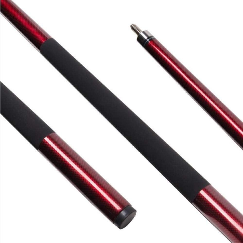 1/2 Snooker Cue Stick 9.5mm Tip Club Tacos de Billar Rojos: Amazon.es: Deportes y aire libre
