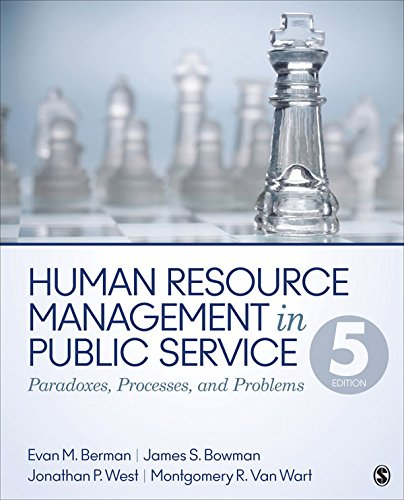 Download Human Resource Management in Public Service: Paradoxes, Processes, and Problems Pdf