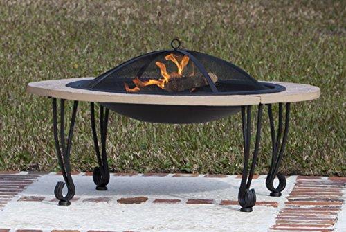 """Fire Sense 02115 30"""" Fire Pit Black"""