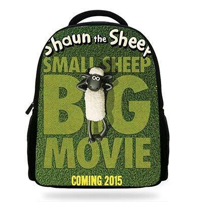 14Inch Popular Cartoon Children Backpacks to School Girls Boys Shaun The Sheep Movie Softback for Kids -