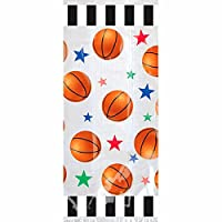 Amscan Basketball Party Treat Bags 20 /pkg