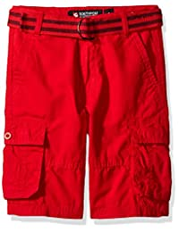 Southpole boys Big Boys Belted Cargo Shorts in Various Colors