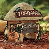 Garden Toad House Mart Yard Decor Always Open