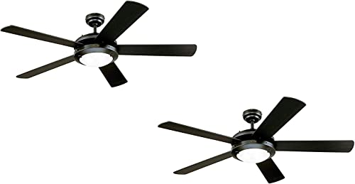 Westinghouse Lighting 78016 Westinghouse Comet 52-Inch Matte Indoor Ceiling Fan