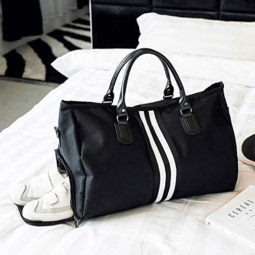 Zxt donne distanza borsa abbigliamento breve Uomini da e viaggio stoccaggio a grande scarpe capacit 534AjLRq