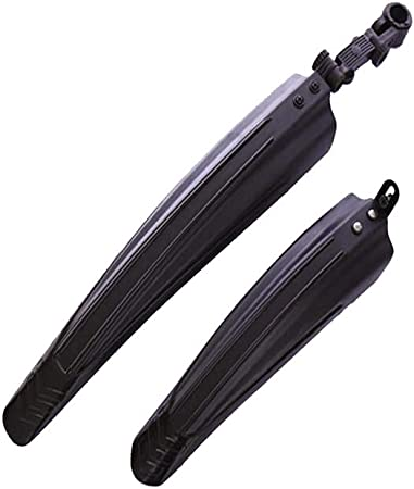 2x Mountain Bike Bicycle Cycling Tire Front//Rear Mud Guards Mudguard Fenders Set