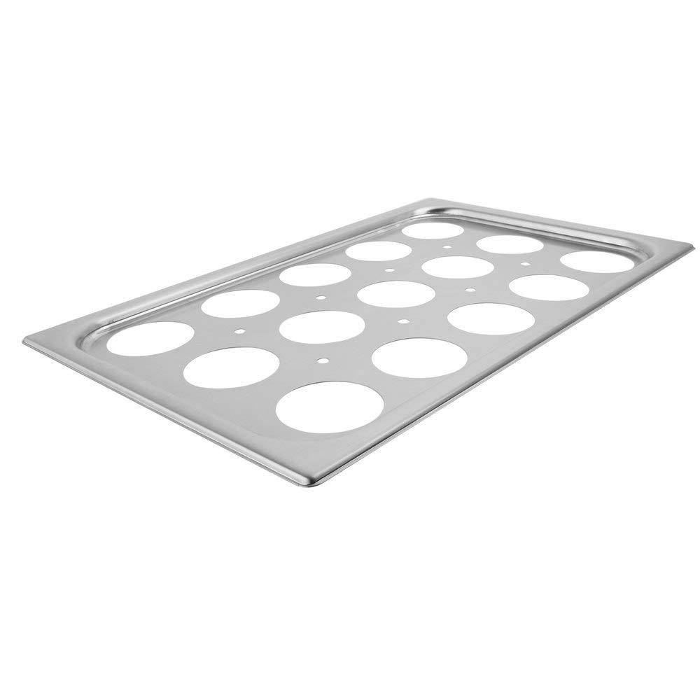 TableTop King 75062 15 Hole Plate for Full Size Egg Poacher