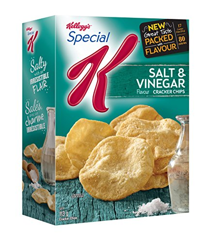(Kellogg's Special K Cracker Chips Salt and Vinegar 113 Gram/3.98 oz)