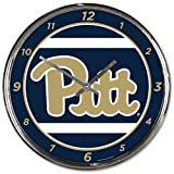 NCAA Pittsburgh Panthers WinCraft Official Chrome Clock