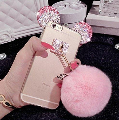 amazon com iphone 7 plus case soft flexible silicone clear cute