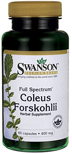 Forskolin Extract 100% Pure Coleus Forskohlii Weight Loss 400mg 30% Standardized