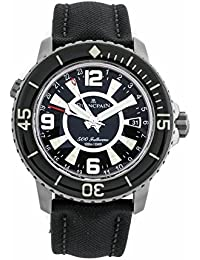 Fifty Fathoms automatic-self-wind male Watch 50021-12bB0-52B (Certified Pre-owned)