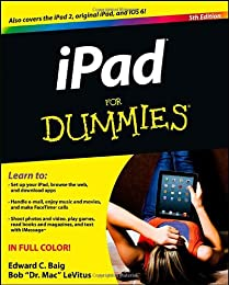 iPad for Dummies, 5th Edition, Book + Online Video Training Bundle