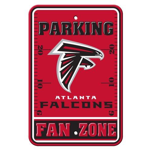 NFL Atlanta Falcons Plastic Parking Signs ()