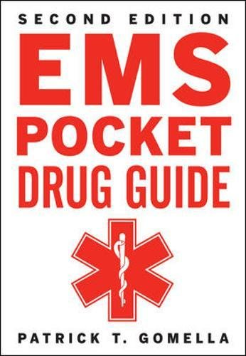 Emt Pocket - EMS Pocket Drug Guide 2/E