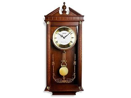 Seiko Westminster/Whittington Dual Chime Wall Clock With Pendulam