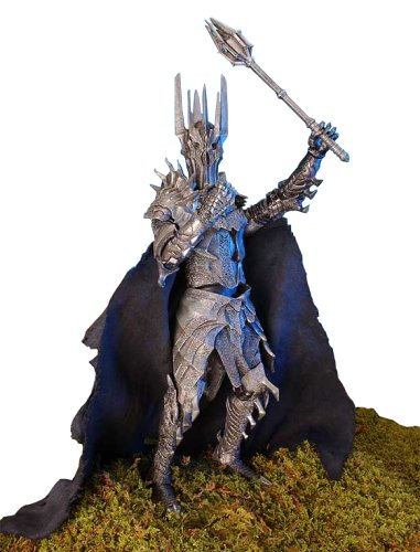 Lord of the Rings - Fellowship of the Ring - Sauron W/electronic Lights and Sounds by Toy Biz -