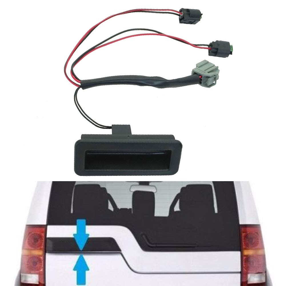 LYXMY Tailgate Trunk Switch,Black Boot Handle Repair Kit For Land Rover Discovery 3//4 and LR3//4. black