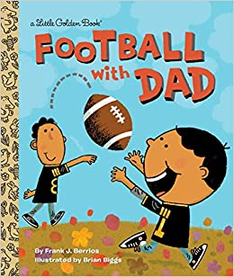 amazon football with dad little golden book frank berrios