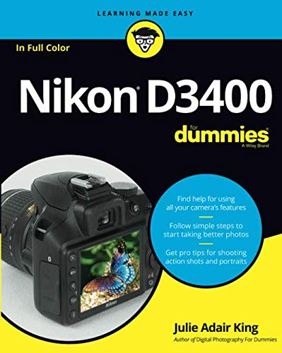 Discover the essentials to getting better photos with the Nikon DLSLR D3400 The Nikon D3400 hits stores as Nikon's most advanced entry-level DSLR camera. Along with the pixel power to deliver sharp images, it also offers tools to be instantly creativ...