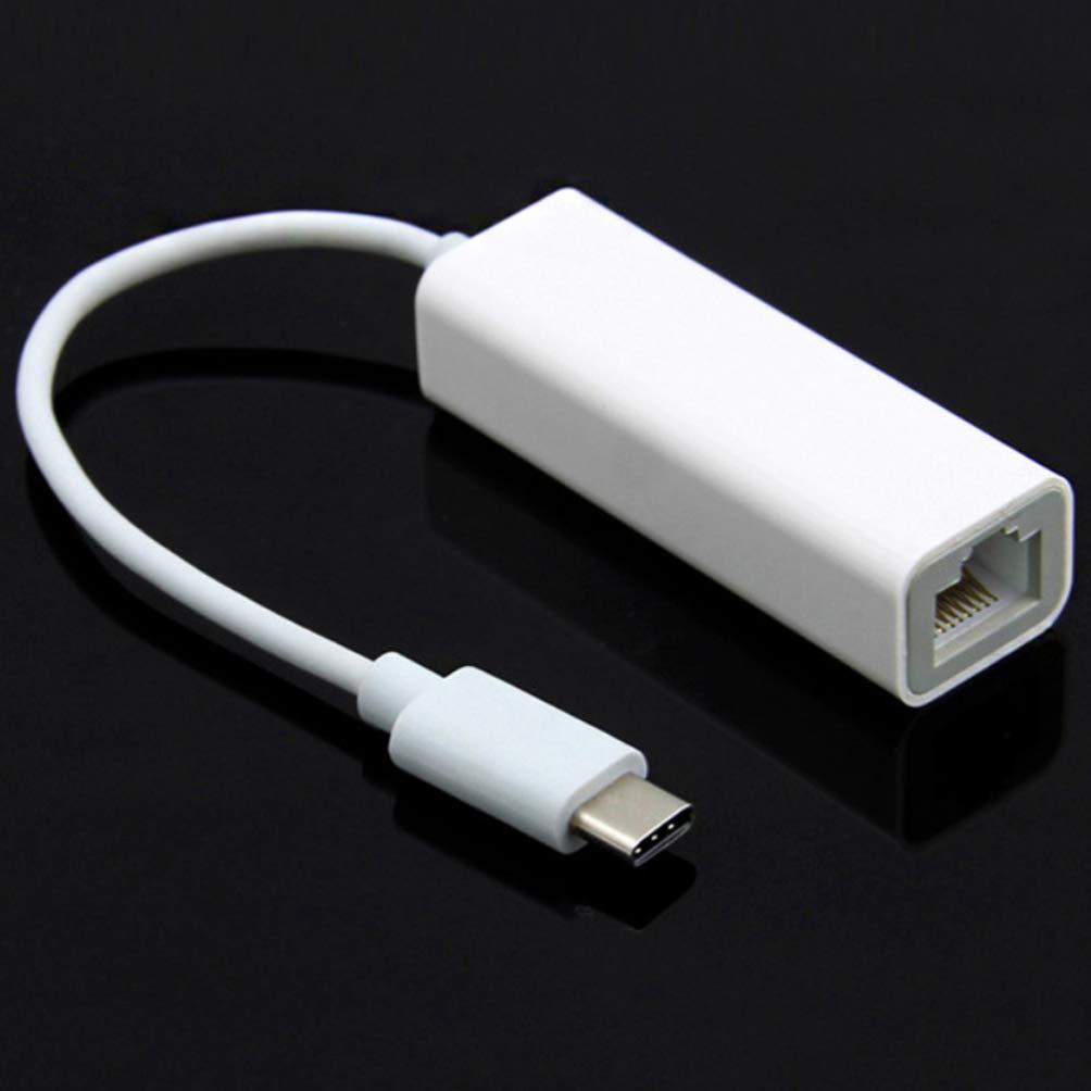 blanc ibasenice adaptateur de concentrateur de type-c 3.1 chargeur usb c connecter le convertisseur rallonge multifonction compatible pour macbook air