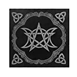 MALLdor 49x49cm Tarot Tablecloth Triple Moon