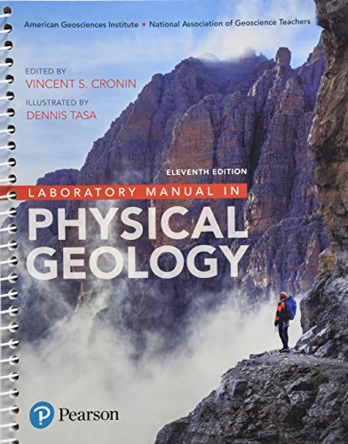 Laboratory Manual in Physical Geology Plus Image Appendix (11th Edition)