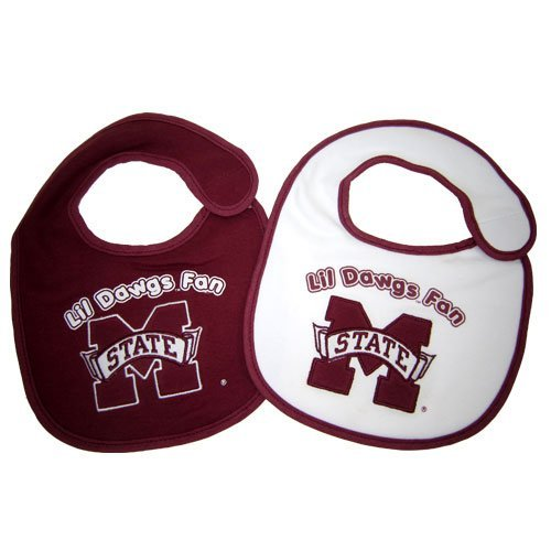 - NCAA Mississippi State Bulldogs Infant Bib 2-Piece