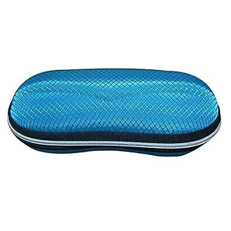 Azul 7 Skareop Funda de Gafas Sol R/ígida Estuche Gafas Caja para Gafas Impermeable para Viajes de Hombres Mujeres Size 17 5CM