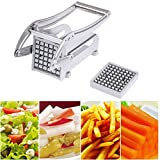 Blue Stones Stainless Steel French Fries Cutters Potato Chips Strip Cutting Machine Maker Slicer Chopper