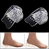 Yosoo Silicone Transparent 5 Layers Gel Taller Heel