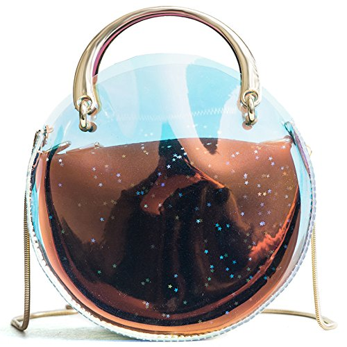 Jelly Crossbody KLXEB Bag Mini Bag Handbag Bag Shoulder Transparent Bag Chain wwpUWRq4T