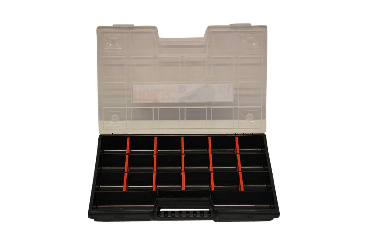 Juego de 5/organizadora con caja Surtido malet/ín peque/ño notebook malet/ín 290/x 195/x 35/mm resistente /& apilable