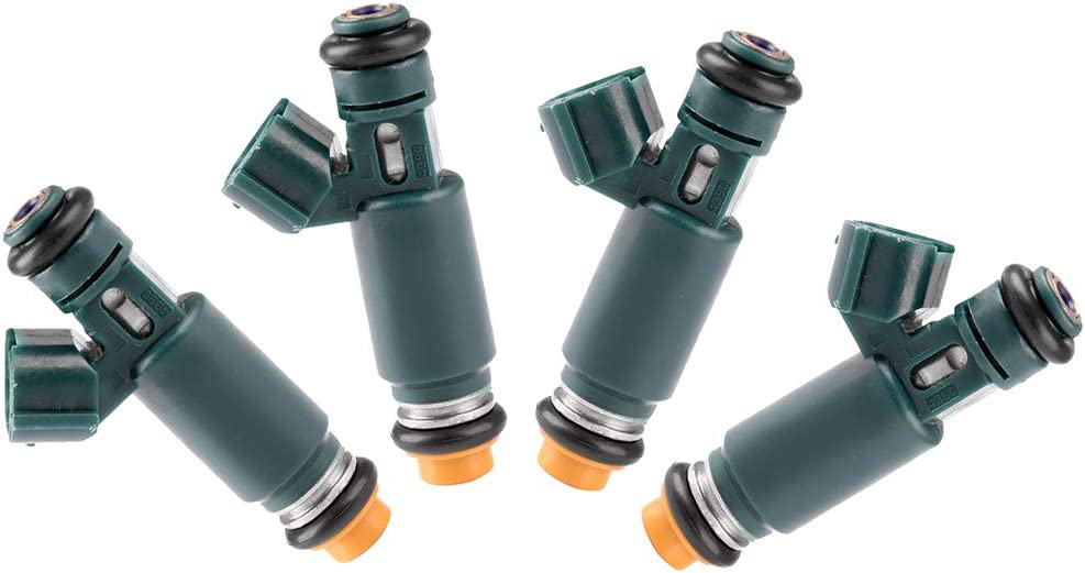 12 Hole Engine Fuel Injector Kits fit for 2002 2003 2004 2005 2006 Nissan Altima 2.5L,2002 2003 2004 2005 2006 Nissan Sentra 2.5L 195500-4390,Pack of 4 ROADFAR Fuel Injector Parts