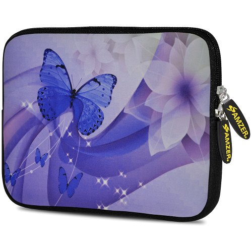 (Amzer 7.75-Inch Designer Neoprene Sleeve Case Pouch for Tablet, eBook, Netbook (AMZ5122077))