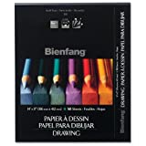 "Bienfang SBAR230721 Giant Drawing Pad, 9"" x 12"", 25 lb., 50 Sheets Per Pad"