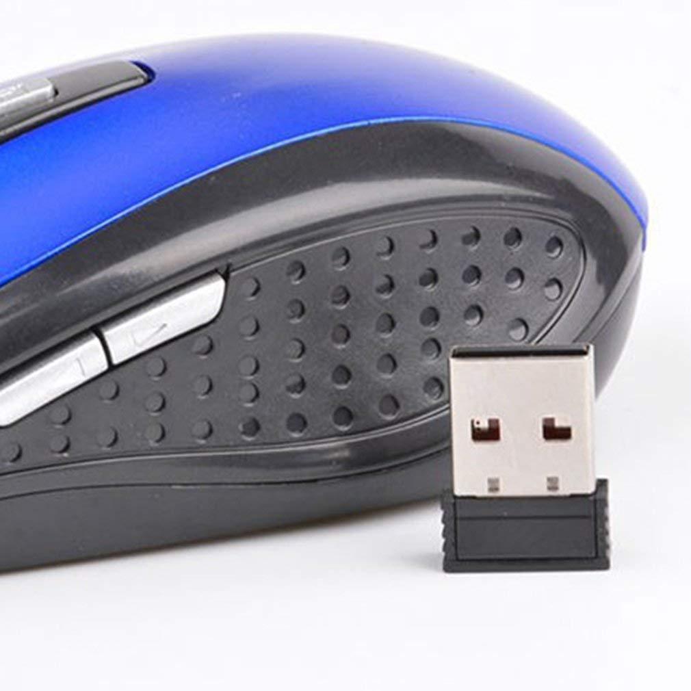 2.4GHZ 1600DPI Cl/é optique sans fil de la souris 6 pour lutilisation de loisirs de bureau de jeux