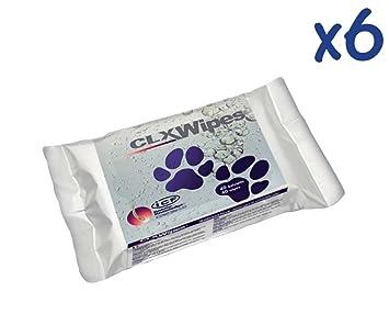 Toallitas ICF CLX Wipes 40 unidades - Toallitas limpiadoras húmedas con Clorexidina para perros, gatos y cachorros: Amazon.es: Deportes y aire libre