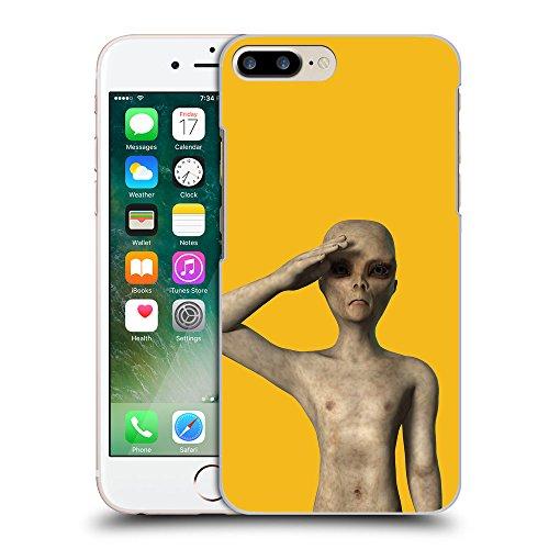 GoGoMobile Coque de Protection TPU Silicone Case pour // Q05500602 UFO extraterrestre Ambra // Apple iPhone 7 PLUS