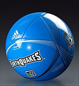 San Jose Earthquakes Adidas Tropheo MLS Soccer Ball. Full Size (#5). Match Ball Replica. Brand New.