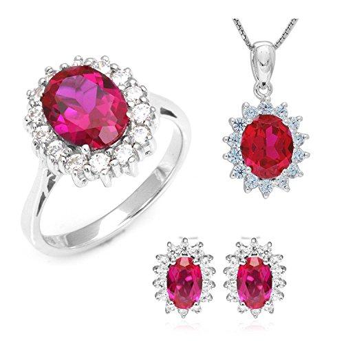 Diana Ruby Ring - 9