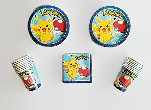 Pokemon Pikachu Party Bundle 7
