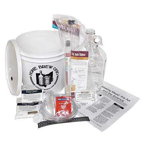 Home Brew Ohio One Gallon Mead Starter Kit