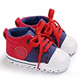 XuanHan Children Canvas Shoes Kids Girl Mixed Colors Lace Up Shoes Anti-Slip Shoe