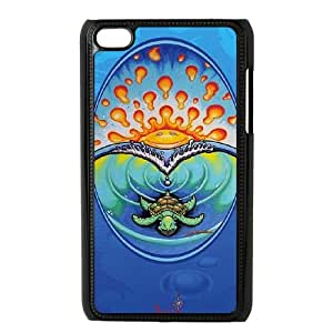 Tiny Turtle iPod Touch 4 Case Black DIY gift pp001-6403386