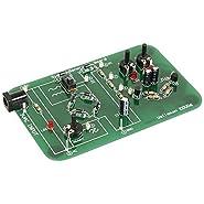 "Velleman EDU06-VP Oscilloscope Tutor Kit, 9-12VAC, 100mA, 4.6"" x 2.9"" x 0.9"" Size"