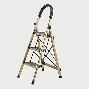 Escaleras Multifunción Escalera De Aluminio Plegable Para El Hogar Escalera Gruesa Escalera Interior Escalera De Aluminio 43 * 60 * 118 Cm: Amazon.es: Bricolaje y herramientas