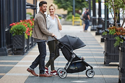 Baby Jogger City Mini Stroller In Black, Gray Frame by Baby Jogger (Image #6)
