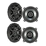 "Kicker CSC5 5.25"" 900W 2 Way 4 Ohm Coaxial Car Audio Speakers (2 Pair) | 43CSC54"