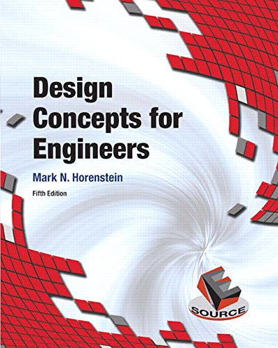 Design Concepts for Engineers (5th Edition)
